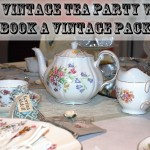 Free Vintage Tea Party with a Vintage Chair Cover Package