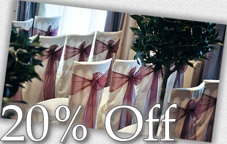 20% off Chair Covers